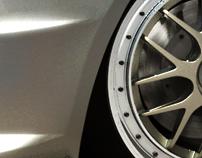 3D Camaro Street Racer - 3D Compositing