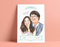 Wedding Invitations & Illustrations