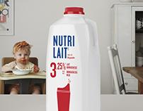 Nutrilait - Le vrai lait pour la vraie vie