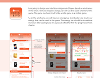 UI/UX for Shopee's Mini Game