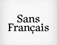 Sans Français (FREE FONT)