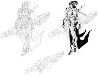 Cyborg girl 09 - Heavy weapon