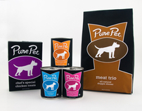 Pure Pet Dog Food Packaging & Branding