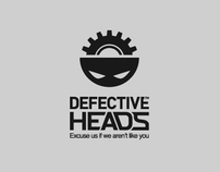 Defective Heads logo
