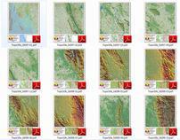 Natonal Atlas of Myamar 1:50,000 scale