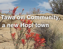 collaboration: The Tawa'ovi Community, a new Hopi town