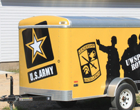 ROTC Trailer Wrap