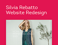 Silvia Rebatto Website Redesign
