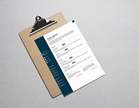 Free Formal Classic Resume Template