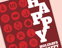 2016 Holiday Postcard Design