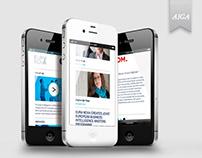 EURA NOVA / responsive website