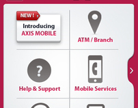 smart phone website - Axis Bank, India
