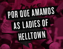 "Poster ""Porque amamos as Ladies of HellTown"""