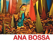 Graphic review of exhibition posters for Ana Bossa