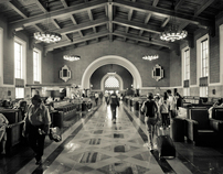 Sit, Stay, and Walk: Union Station