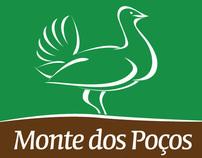 Logo design for Monte dos Poços
