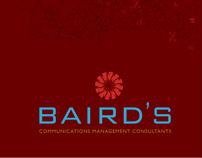 Catalog Design - Baird's