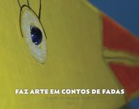 Book for kids art project Faz Arte em Contos de Fadas