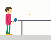 A fantastic game of ping pong