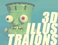 ® 3D ILLUSTRATIONS