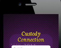 Custody Connection - Iphone UI Design