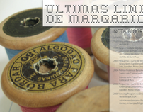 Invitation and leaflet for Margarida Palma's exhibition