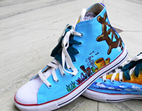 I The Sailor I Hand Painted Shoes I