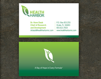 Health Harbor Identity and Packaging