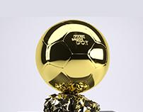 The FIFA Ballon d'Or - 3D Model