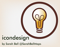 Map & Chart Icon Design