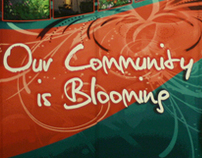 Communities In Bloom - Trade Show Display