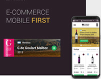 World Malbec - Mobile First E-commerce