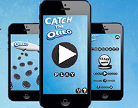 OREO. Catch The Oreo. Kampagne. SoMe + App
