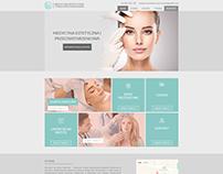 Medycyn estetyczna - projekt WWW