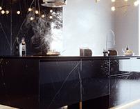 CGI - Kitchen Black - Brazil