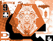 DISTRICT 9 PLAYING CARD - HERO COMPLEX GALLERY.