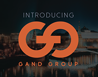 Gand Group Identity Design
