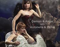 Demon & Angel, with Antonella & Eloïse