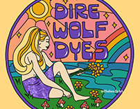 Dire Wolf Dyes Logo