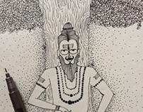 Sadhu sadhana art