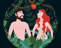 ADAM&EVE / illustration