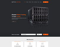 Neptun Hosting - One Page Hosting