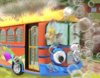 Sesame Street Bubble Bus