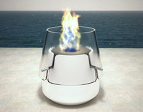 Pyrolamp Fireplace