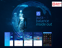 Aura Balance Inside Out | Digital Ads + App