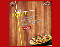 Pizza Hut: Size: Augmented Reality App