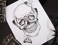 Skulls & moths