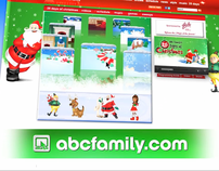 ABC Family 25 Days of Christmas Glade E-Card Spot