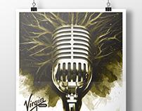 Virgin col - Rock al Parque - Poster art.