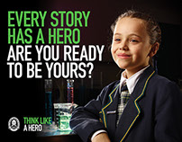 Westbourne Grammar 'Think Like a Hero' campaign